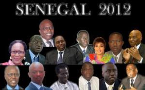 Candidats Élections présidentielles 2012