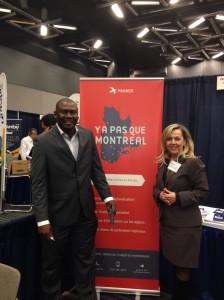 Salon de l'immigration-Régionalisation-Palais des Congrés de Montréal